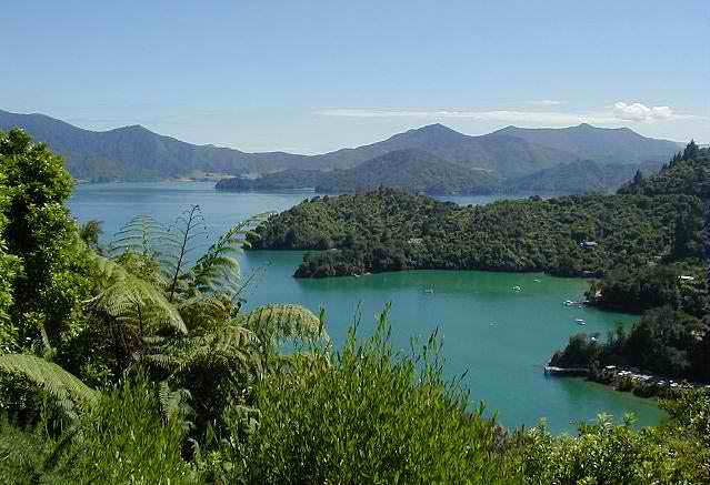 Marlborough Sounds New Zealand  city pictures gallery : Marlborough Sounds, Days 1 and 2